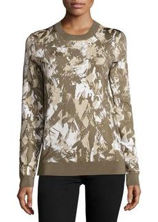 Jason Wu Long-Sleeve Printed Pullover