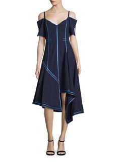 Jason Wu Off-The-Shoulder Wool Dress