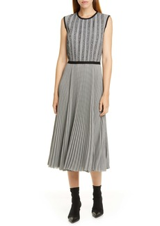 Jason Wu Plaid Midi Dress