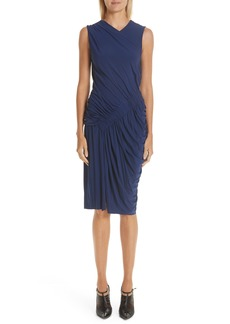 Jason Wu Ruched Jersey Sheath Dress
