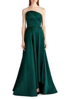 Jason Wu Satin Strapless Evening Gown