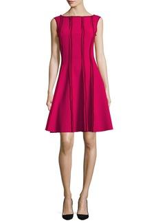Jason Wu Sleeveless Frayed Stretch-Crepe Dress