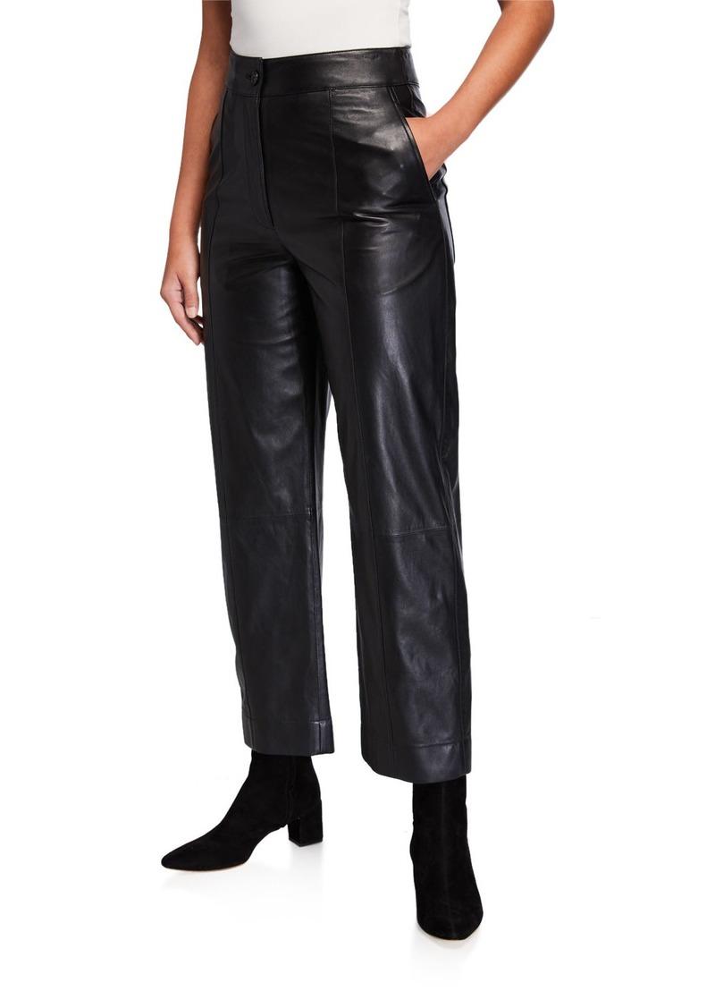 Jason Wu Straight-Leg Leather Pants