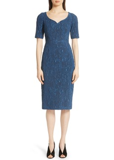 Jason Wu Stretch Cloqué Jacquard Dress