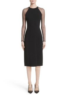 Jason Wu Swiss Dot Sleeve Dress