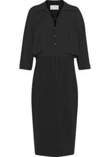 Jason Wu Woman Bow-detailed Crepe Dress Black