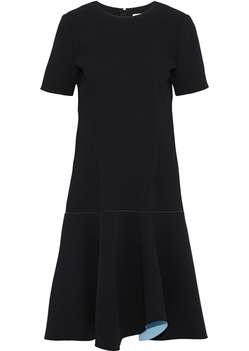 Jason Wu Woman Flared Crepe Dress Black