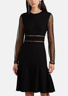 JASON WU Women's Mesh-Inset Ponte Dress