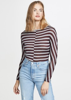 Jason Wu Wool Striped Sweater