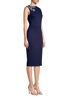 Jason Wu Jersey Appliqué Sheath