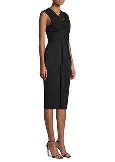 Jason Wu Lace Jersey Sheath Dress