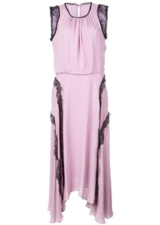 Jason Wu lace trim midi dress