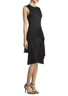 Jason Wu Layered Pleated Dress