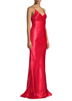 Jason Wu Liqud Satin Slip Gown