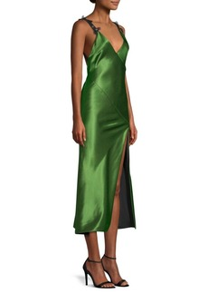 Jason Wu Liquid Satin Bias Cut Slip Dress