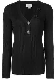 Jason Wu long-sleeve fitted sweater