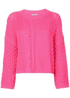Jason Wu long sleeve knitted top