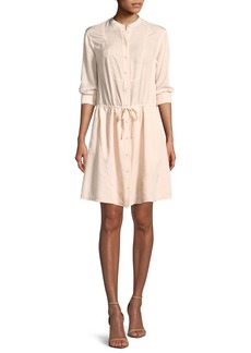 Jason Wu Long-Sleeve Shirt Dress