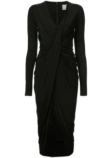 Jason Wu longsleeved ruched dress