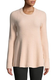 Jason Wu Merino Wool Trapeze Sweater