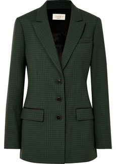 Jason Wu Milano Checked Twill Blazer