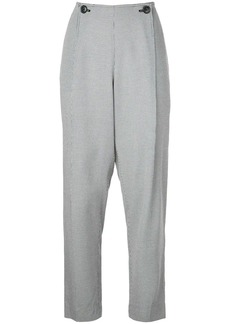 Jason Wu mini check print trousers