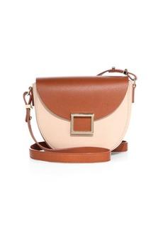 Jason Wu Mini Jaime Colorblock Leather Saddle Bag