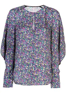 Jason Wu multicoloured print blouse