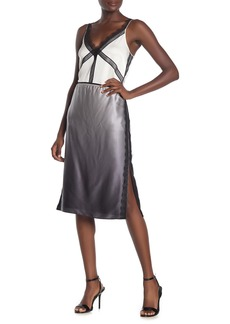 Jason Wu Ombre Charmeuse Silk Knee Length Skirt