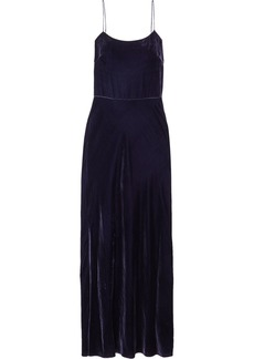 Jason Wu Open-back Velvet Maxi Dress