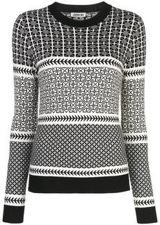 Jason Wu patterned sweatshirt