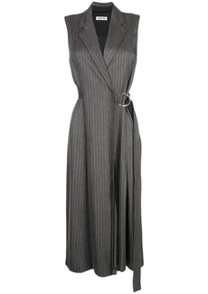 Jason Wu pinstripe wrap dress