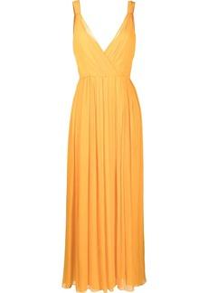 Jason Wu pleated silk maxi dress