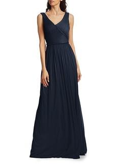 Jason Wu Pleated Sleeveless Jersey Gown