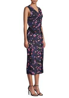 Jason Wu Printed Jersey Sleeveless Sheath Dress