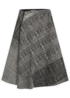 Jason Wu Printed Virgin Wool Skirt