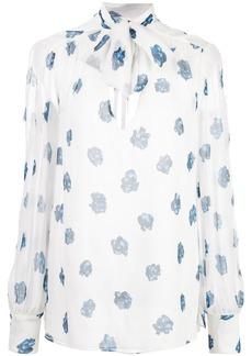 Jason Wu rose print blouse