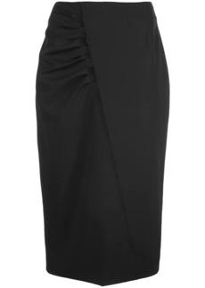 Jason Wu ruched side skirt