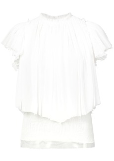 Jason Wu ruched smock blouse
