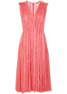 Jason Wu ruffle pleat midi dress