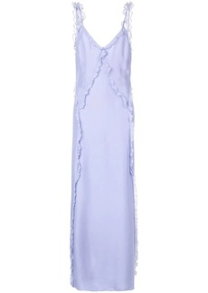 Jason Wu ruffle trim long dress