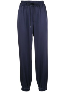 Jason Wu satin drawstring joggers