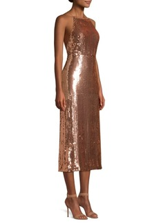 Jason Wu Sequined Crisscross Strap Dress