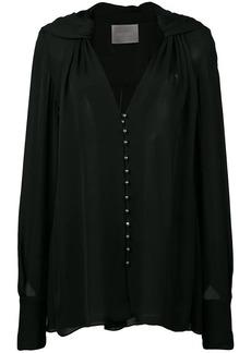 Jason Wu sheer buttoned blouse