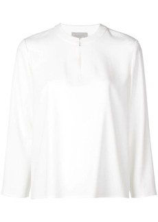 Jason Wu shift long-sleeve blouse