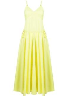 Jason Wu silk spaghetti-strap dress