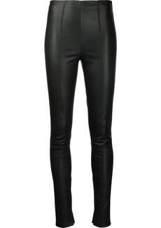 Jason Wu skinny-cut leather trousers