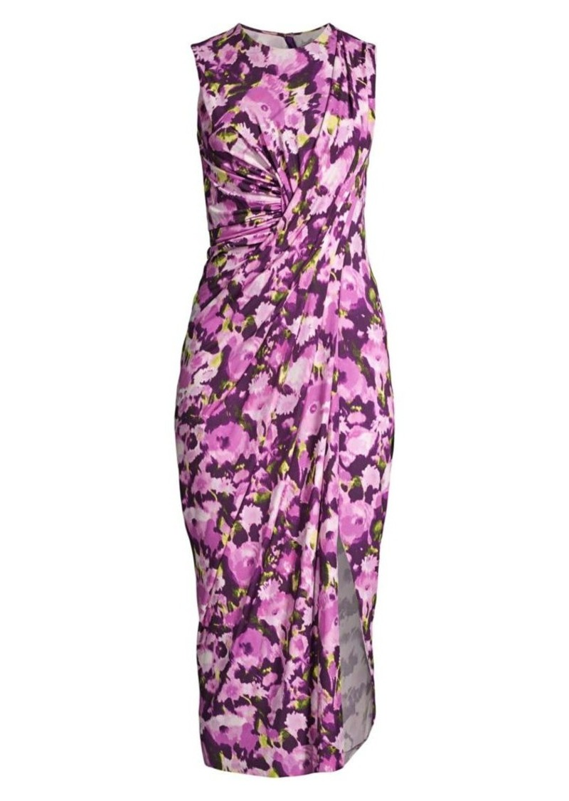 Jason Wu Sleeveless Floral Jersey Day Dress