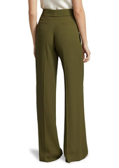 Jason Wu Soft Wide-Leg Crepe Pants