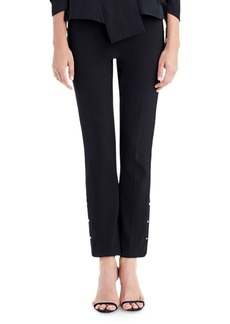 Jason Wu Straight-Leg Pants with Stud Details